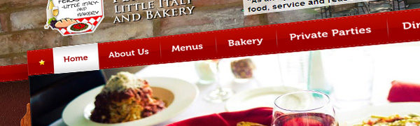 Ferrari's Little Italy & Bakery Launch Brand New Website