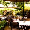 Dine at our beautifully landscaped outdoor patio